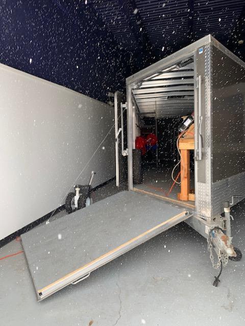 2017 Lightning 8' x 22' + 5' Cargo Snowmobile ATV Enclosed Aluminum