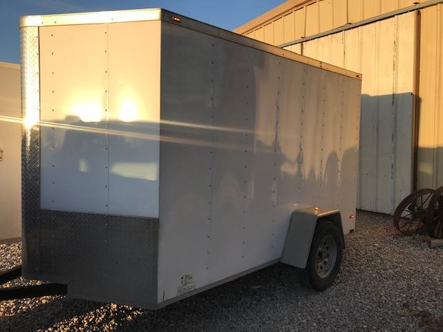 2019 Parker County Trailers 6' x 10' Single Axle Enclosed Cargo Trailer