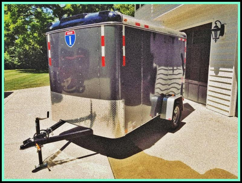 2019 Interstate Victory 6 x 10 Enclosed Cargo Trailer