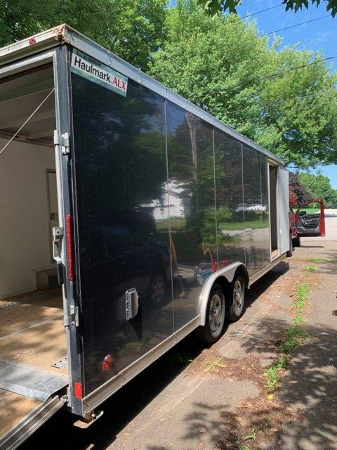 2018 Haulmark ALK 24 ft Enclosed Car Traile w/ 2 ft V nose