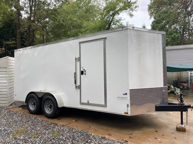 2019 Anvil 7 x 16 10K Enclosed Cargo Trailer