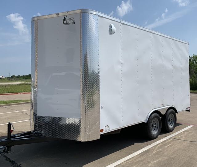 2021 Cargo Craft 8.5x16x7.5 Enclosed Cargo Trailer