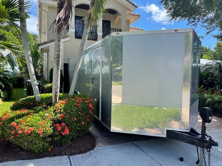 2018 Freedom 8.5 x 24 Enclosed Cargo / Race Trailer