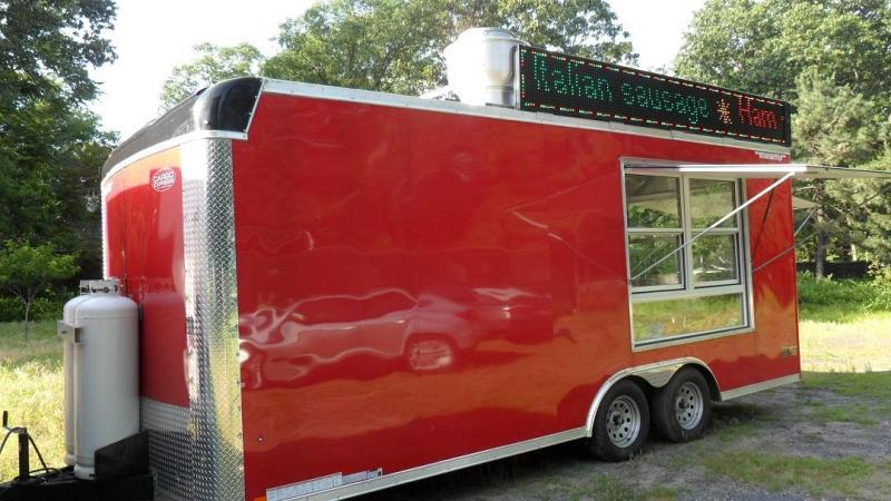 2018 Cargo Express 8.5' x 21' Concession Trailer