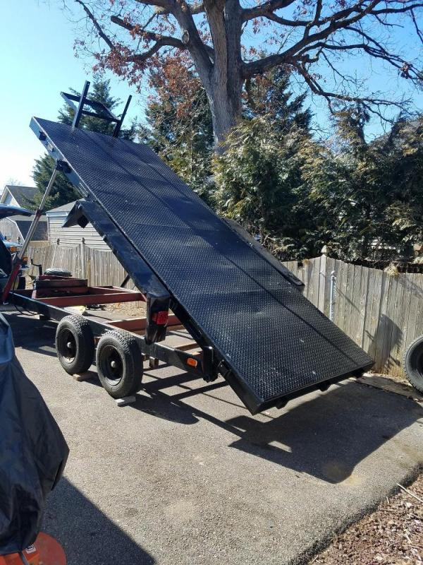 2000 Hond 6.5' x 16' Heavy Duty Dump Trailer