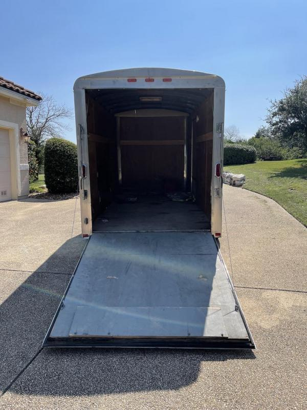 2012 Carry-On 6x12 CGEC Single Axle Enclosed Cargo Trailer