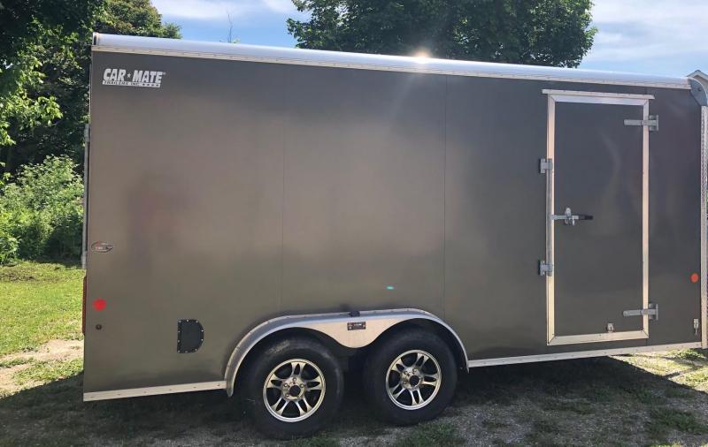 2018 Car Mate CM716CC-HD Enclosed Cargo Trailer