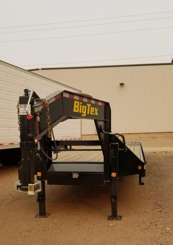 2020 Big Tex 25GN 35+5 Gooseneck Flatbed Trailer w/ Mega Ramps