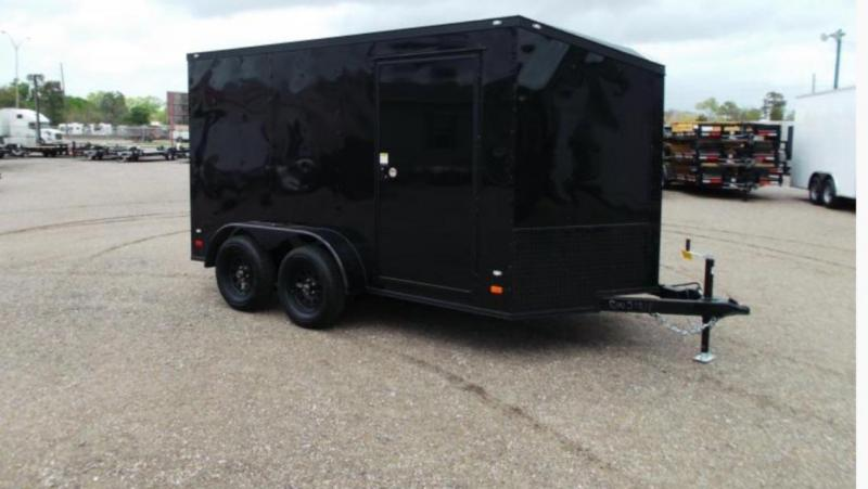 2016 Wagon Trail 7 x 12 Enclosed Cargo Trailer
