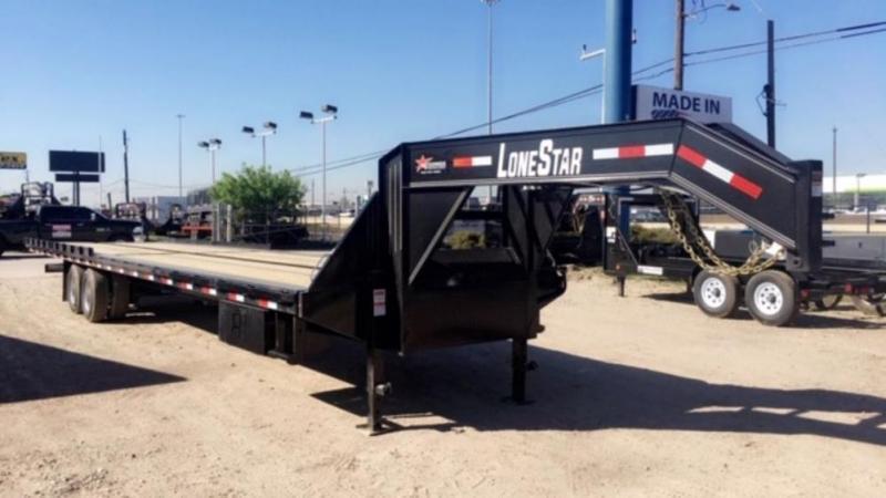 2022 Lonestar 40' Full Deck Tilt Trailer