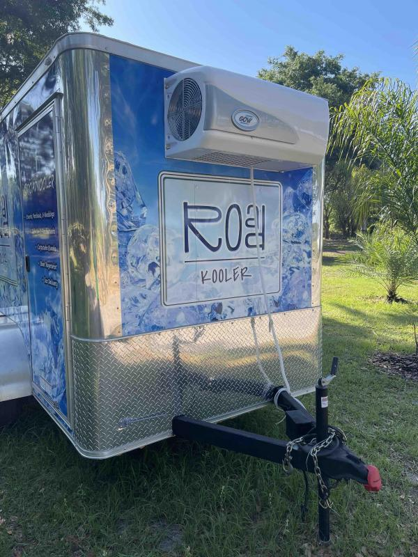 2011 Diamond Enclosed Cooler Trailer