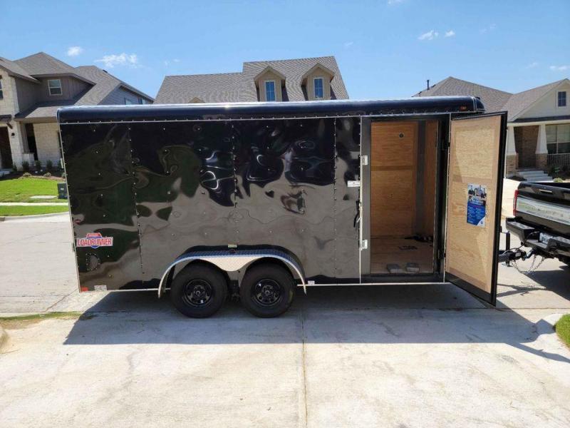 2021 Interstate LoadRunner 7 x 16 Enclosed Cargo Trailer w/ Warranty