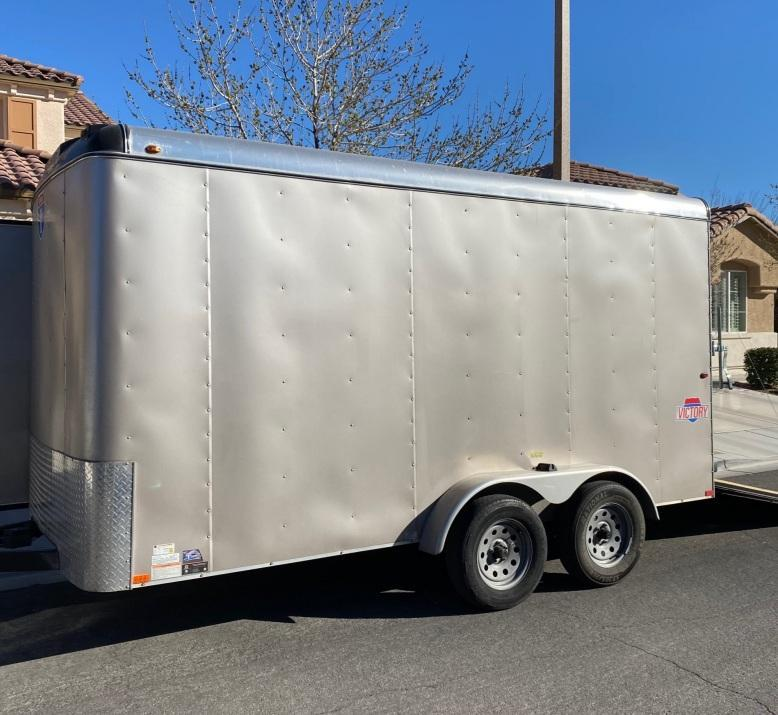 2018 Interstate Victory 7' x 14' Enclosed Cargo Trailer