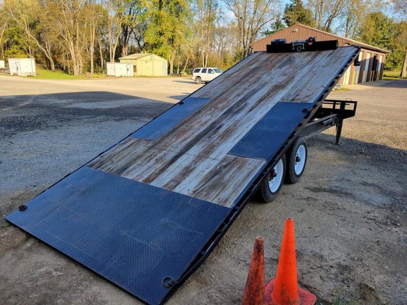 "2017 Load Trail 102"" x 22' Tilt Deck Equipment Trailer"