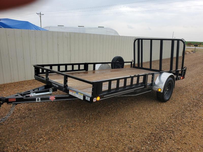 "2020 PJ 83"" x 14' Single Axle Utility Trailer"