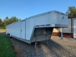 2007 Featherlite 48' Custom Enclosed Car Trailer