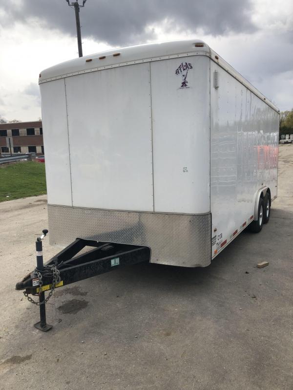 2019 Atlas 8 x 20 10K Enclosed Trailer