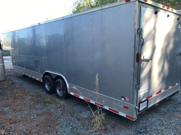 2016 Freedom 34' Enclosed Cargo / Car Trailer