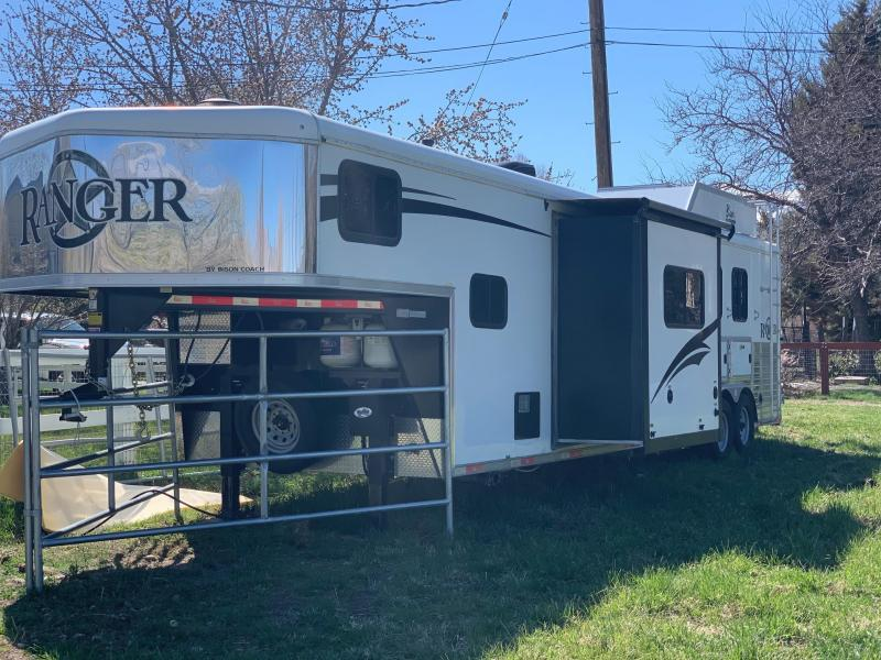 2017 Bison Coach Ranger 8314 RG with Living Quarters