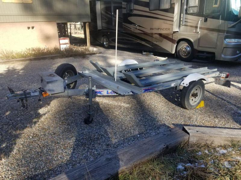 2006 Load Rite 3-Bike Motorcycle Trailer
