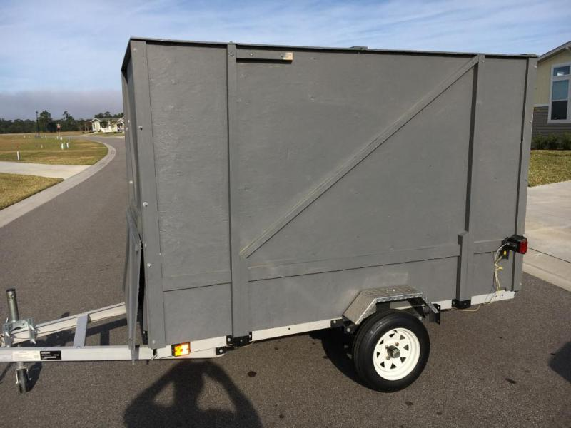 2018 Ultra-Tow 4' x 8' Folding Aluminum Trailer