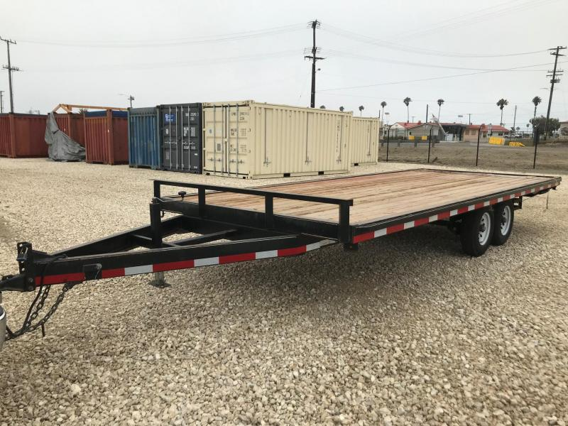 2019 Carry-On 8.5 X 20 10K Over the Tire Flatbed