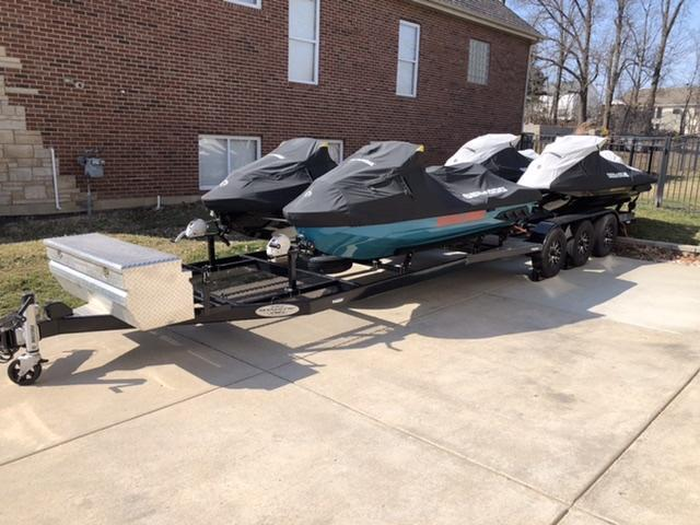 2020 Shadow 4 Place Personal Watercraft Trailer