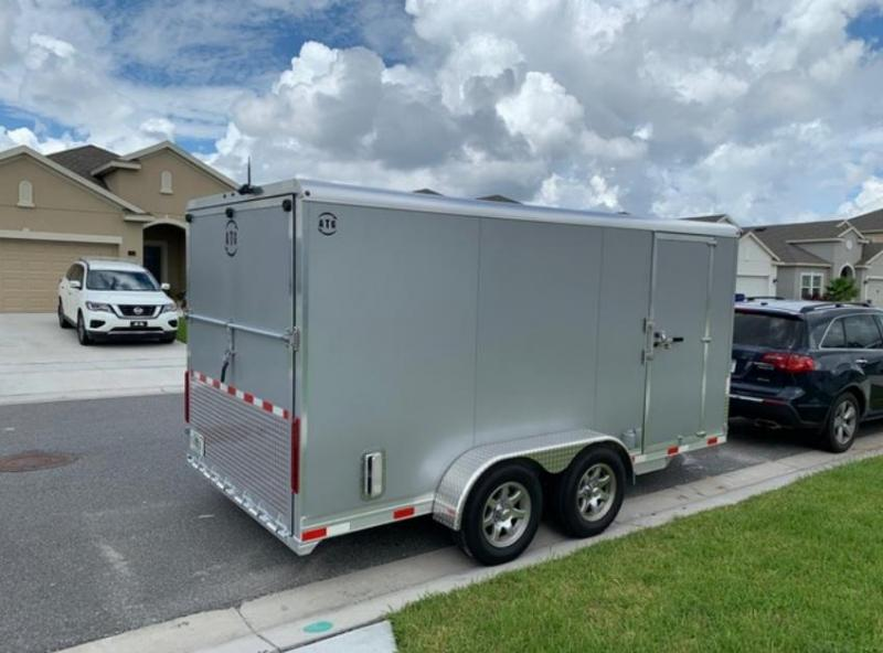 2020 Aluminum Trailer Group 14' All Aluminum Enclosed Cargo Trailer