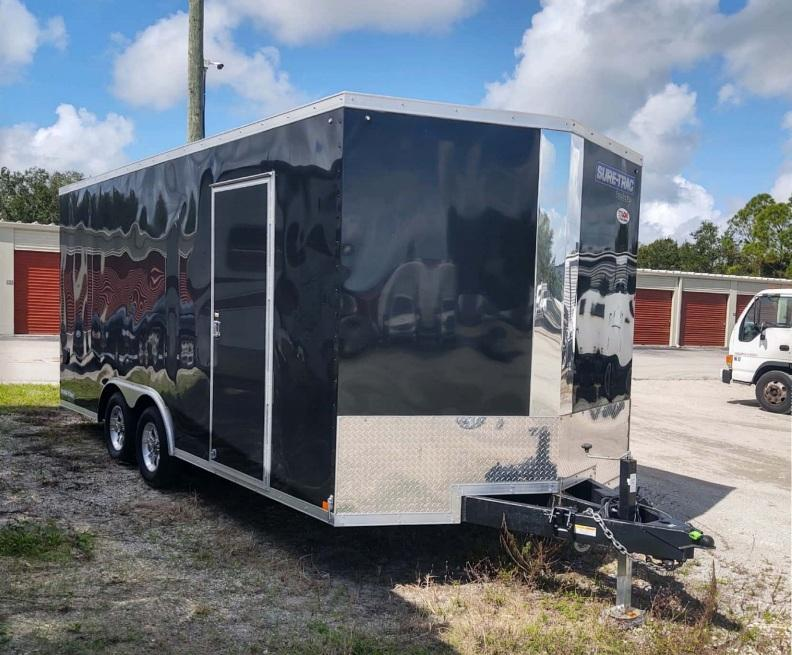 2020 Sure-Trac 8.5 x 18 Enclosed Cargo Trailer