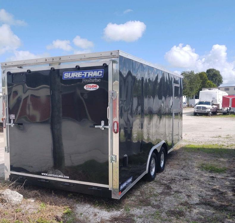 2020 Sure-Trac 8.5 x 18 Enclosed Cargo Trailer