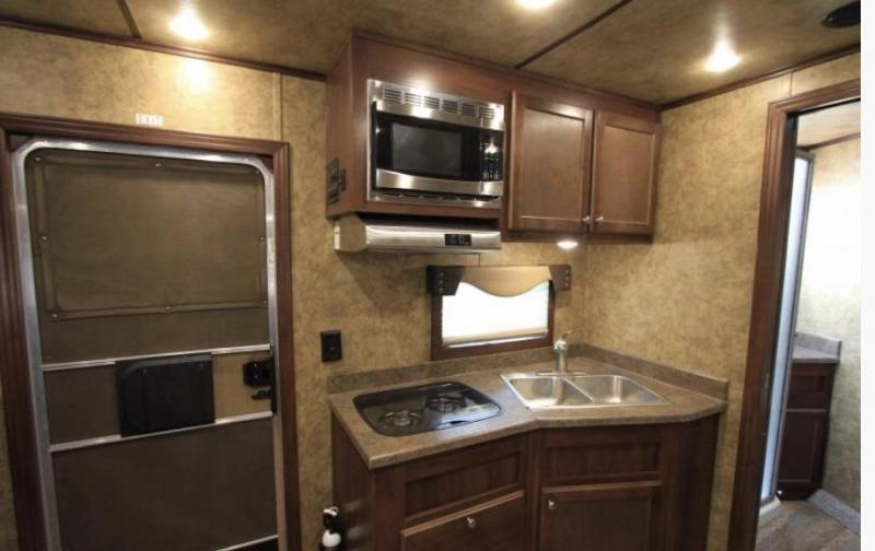 2017 Exiss Trailers STC 8034 Livestock Trailer