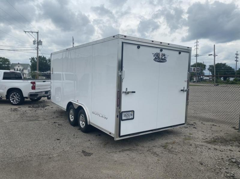 2017 Vintage Trailers Outlaw 8 x 18 Enclosed Cargo