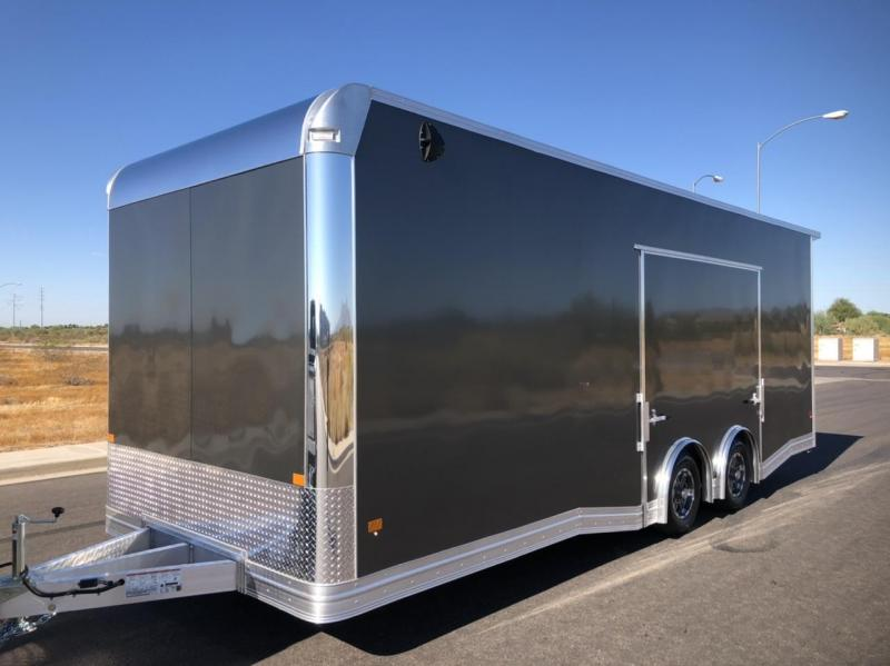 NEW 2021 Mission EZ Hauler 8.5 x 24 ALUMINUM Enclosed Car Hauler