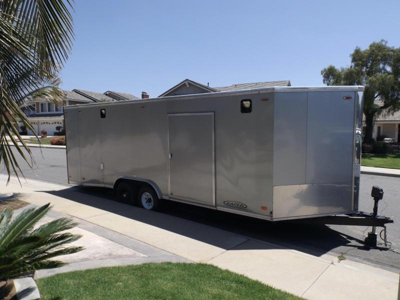 2017 Carson Enclosed Cargo / Racing Trailer