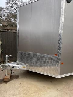 2020 Alcom-Stealth Aluminum 8.5 x 16.5 Enclosed Cargo Trailer