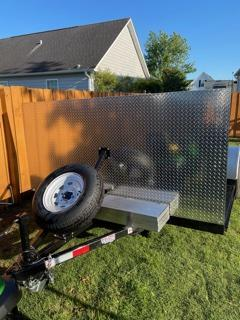 2021 Texas Trailers 4' Deck Over Tow Dolly
