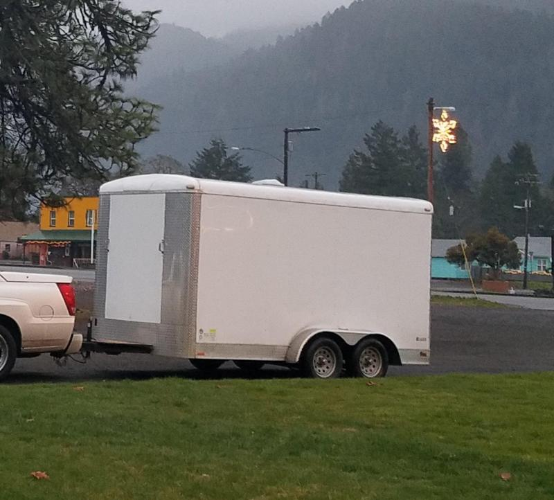 2015 Forest River 7 x 14 TA Enclosed Utility Trailer