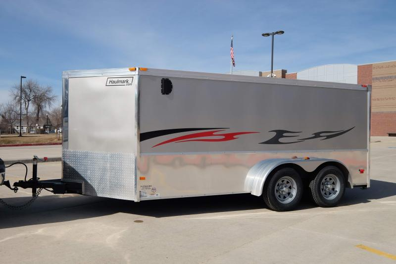 2012 Haulmark VNLH7X14WT2 Enclosed Motorcycle Trailer