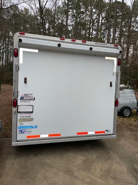 2000 Featherlite 8.5 x 32 Aluminum Enclosed Cargo Trailer