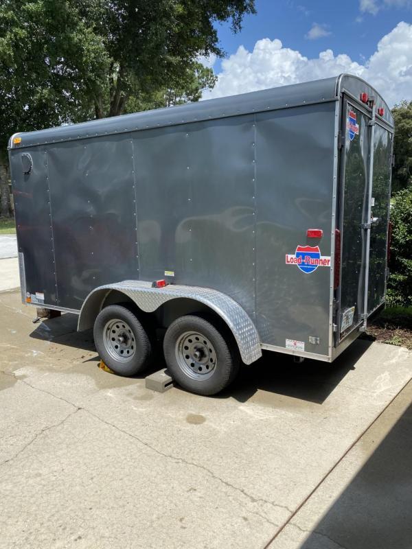 2013 Interstate LoadRunner 6 x 12 Tandem Axle Enclosed Trailer