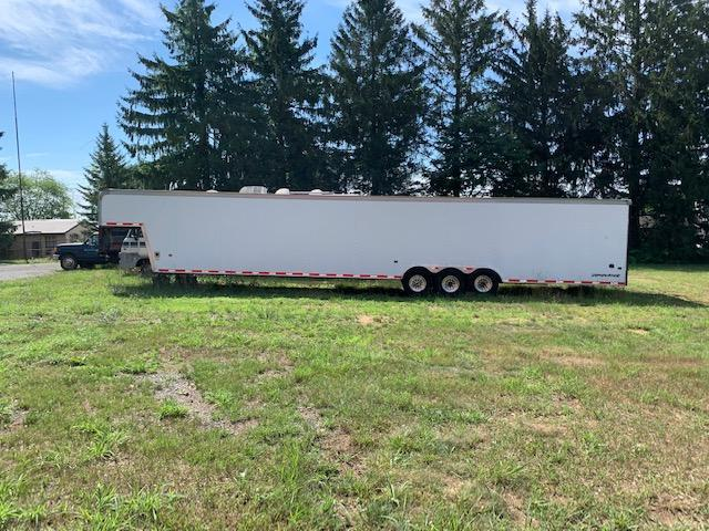 2005 Classic Manufacturing 53' 18500 GVW Enclosed Car Trailer