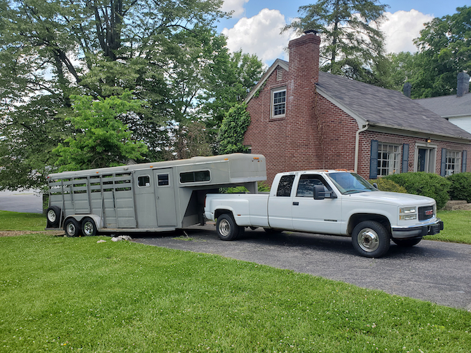 2020 Triple B and J Trailers 32' Stock Combo Livestock Trailer