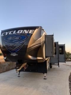 2017 Heartland Cyclone 3611 Toy Hauler