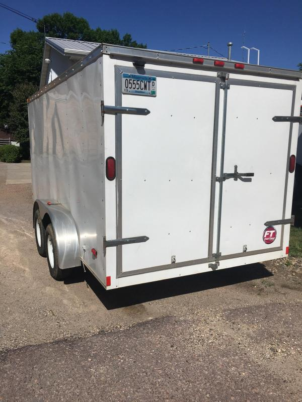 2013 Wells Cargo 7 x 14 Tandem Axle Enclosed Cargo Trailer