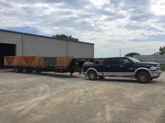 2014 Load Max Hot Shot 40' Gooseneck Flatbed Trailer