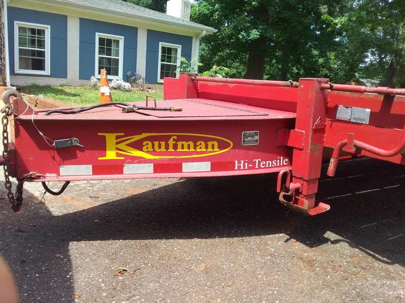 2006 Kaufman 10T Utility Trailer