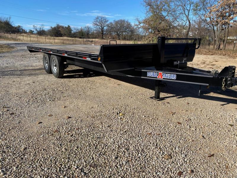 """2020 Double A 102"""" x 20' Deck Over Equipment Trailer"""