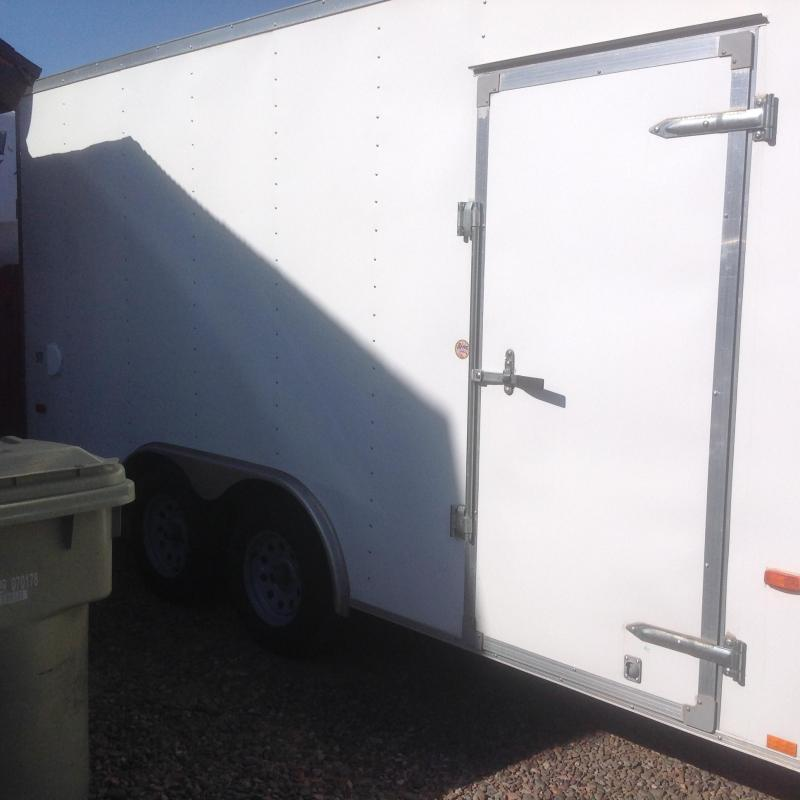 2015 Look Trailers ST 8 x 16 Enclosed Cargo Trailer
