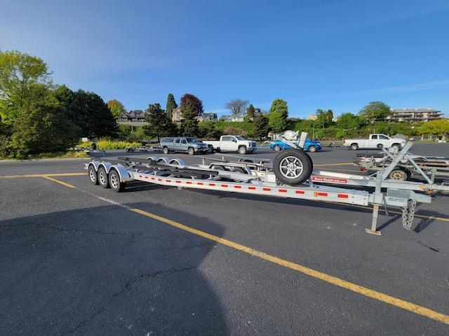 2019 EZ Loader Heavy Duty Triple Axle Aluminum Trailer for 26'-32' Boats