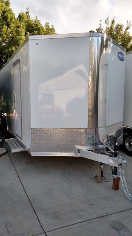 """2021 Look Everlite 102"""" x 24' Aluminum Enclosed Cargo/ Car Hauler"""